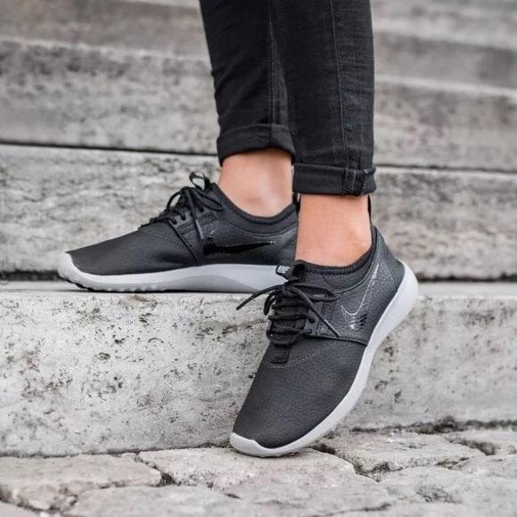 purchase cheap 81353 cc7dd Women s Nike Juvenate Black Premium Sneakers